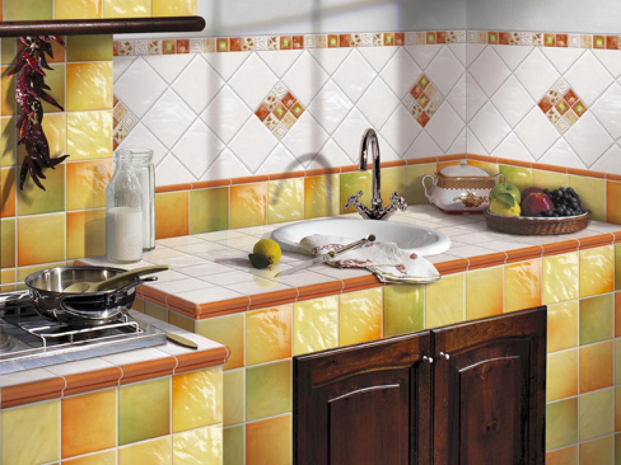 Mosaic tile backsplash hgtv mediterranean flair dailygadgetfo Gallery