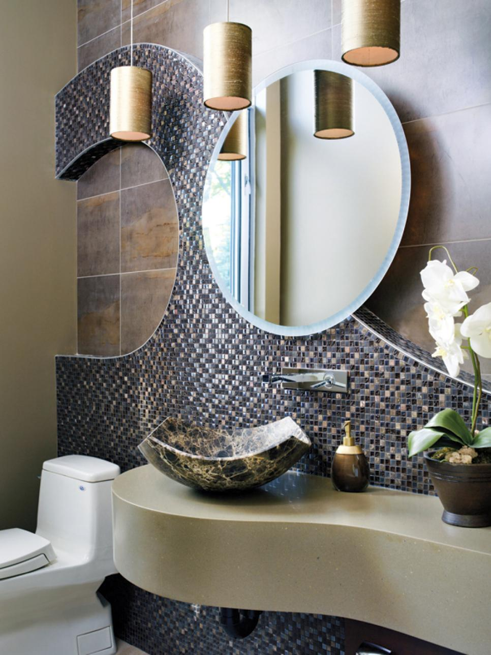 Sophisticated Bathroom Designs HGTV - Bathroom remodel ideas 2014