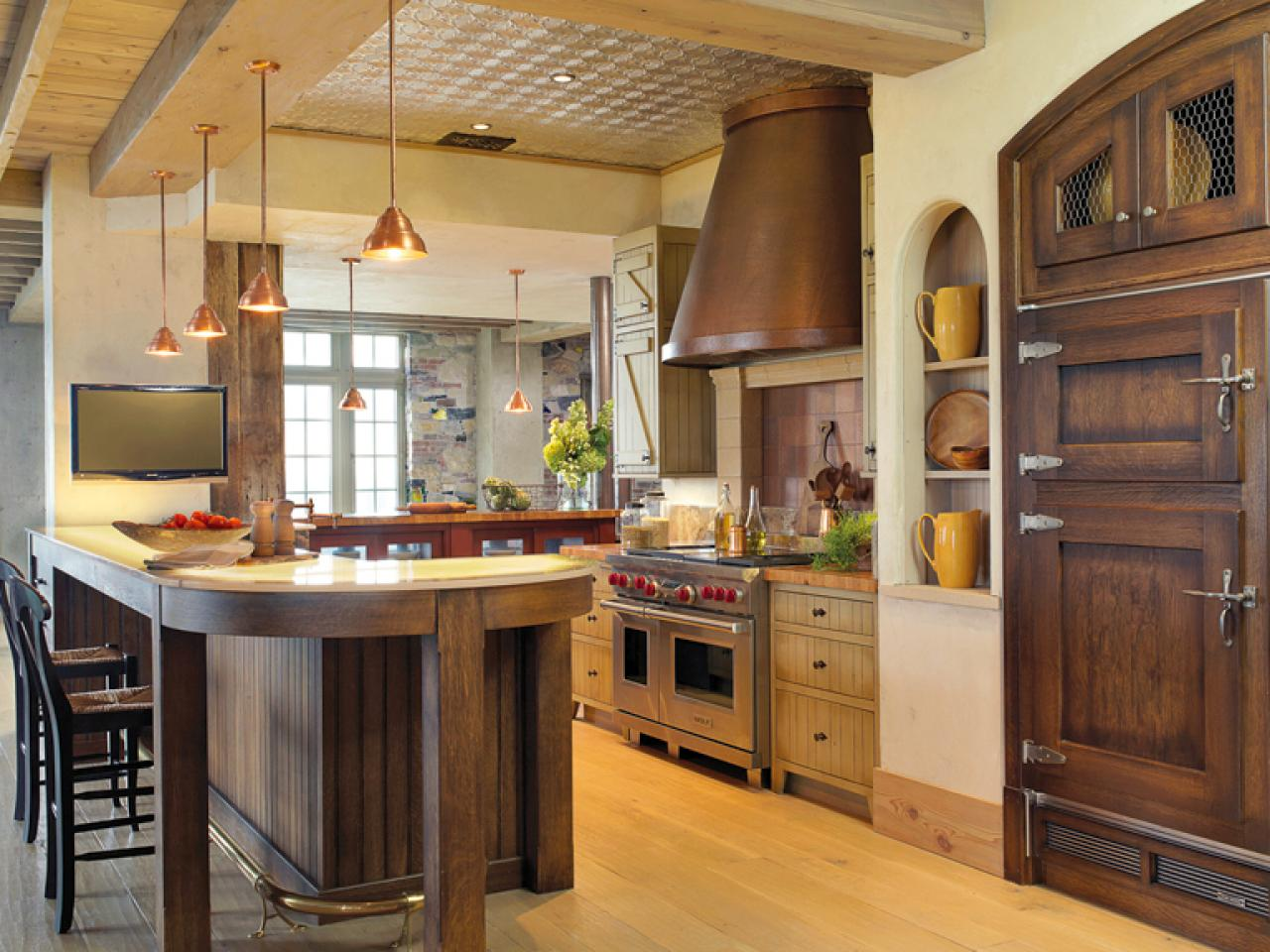 Rustic Elegance In The Kitchen Kitchen Designs Choose Kitchen Layouts Remodeling Materials