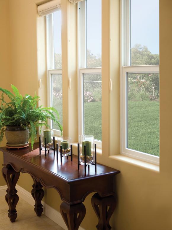 Simple Single Layer Window Casing