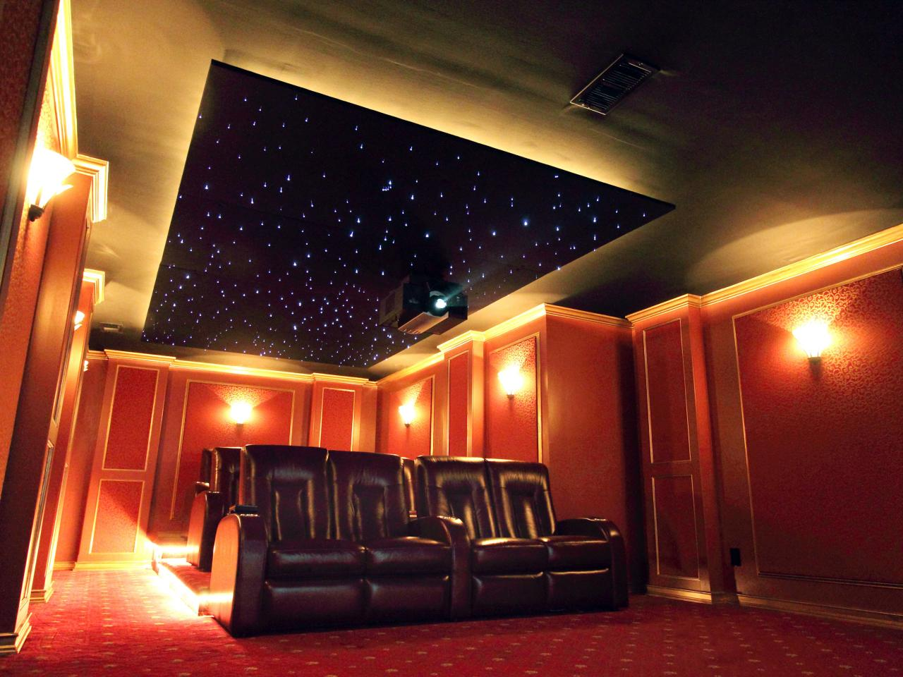 Home theater lighting ideas tips hgtv Home cinema interior design ideas