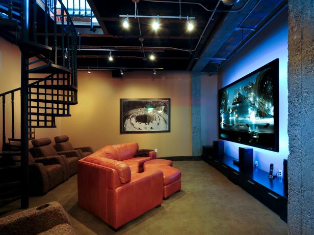 20 Must See Media Room Designs Hgtv