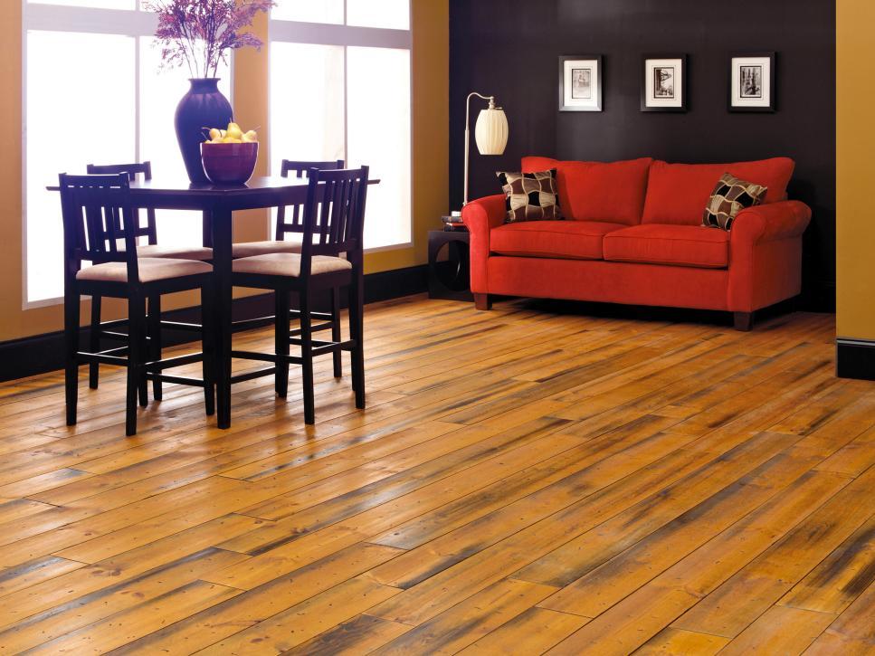 top flooring options hgtv - Dining Room Flooring Options