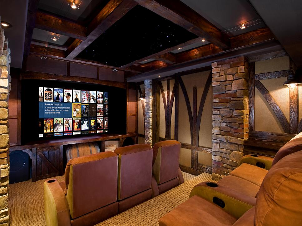 13 high end home theater designs hgtv Theater rooms design ideas