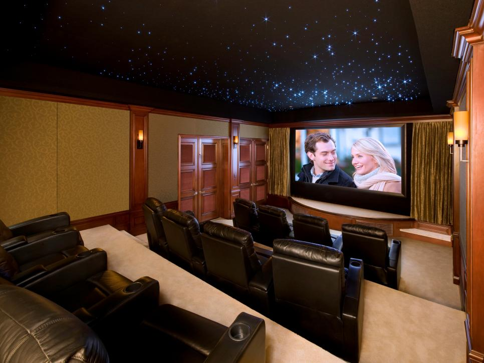 13 high end home theater designs hgtv Interior design ideas home theater