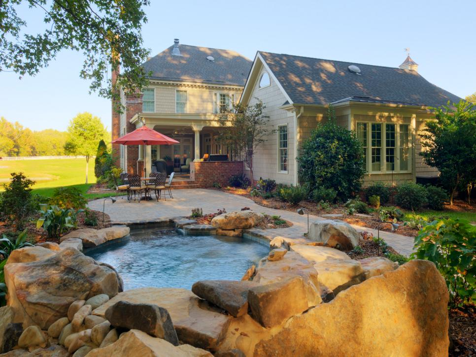 Patio ideas building tips and design trends hgtv for Latest pool designs