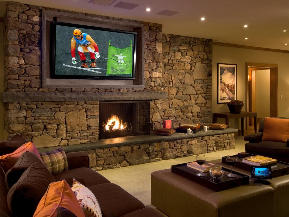 Media Rooms Family Time HGTV