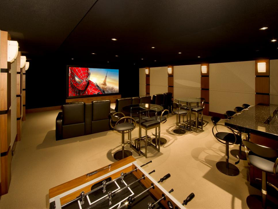 Best Media Room Design Ideas Contemporary - Interior Design Ideas ...