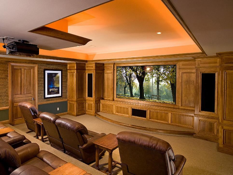 Amazing home theater designs hgtv for Incredible home designs