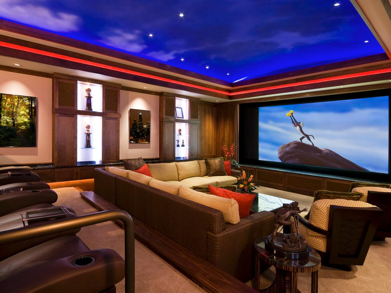 Choosing a Room for a Home Theater  HGTV