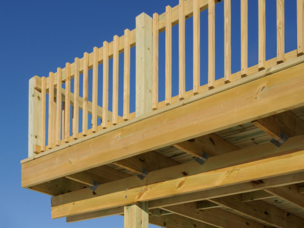 Decking materials know your options hgtv for Outside decking material