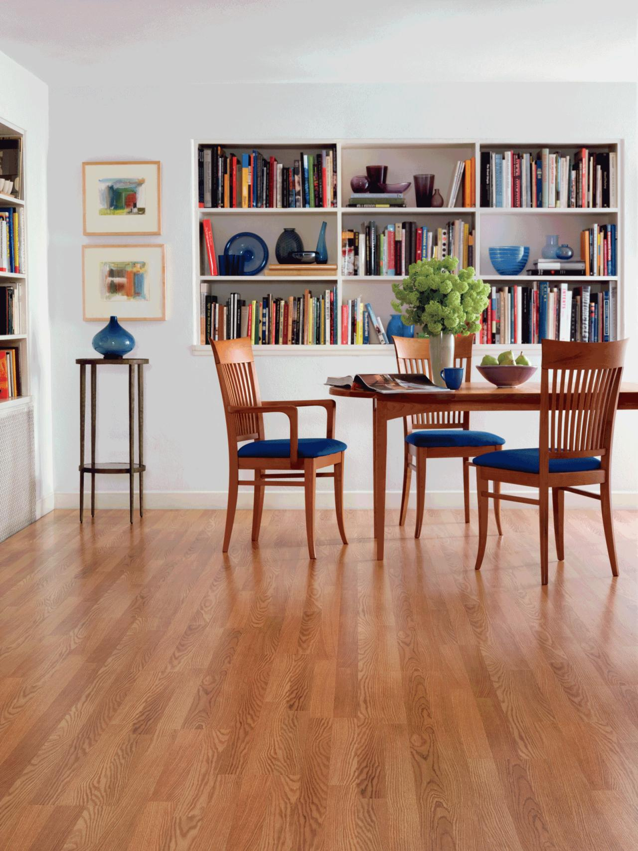 Best flooring option pictures 11 ideas for every room for Dining room flooring