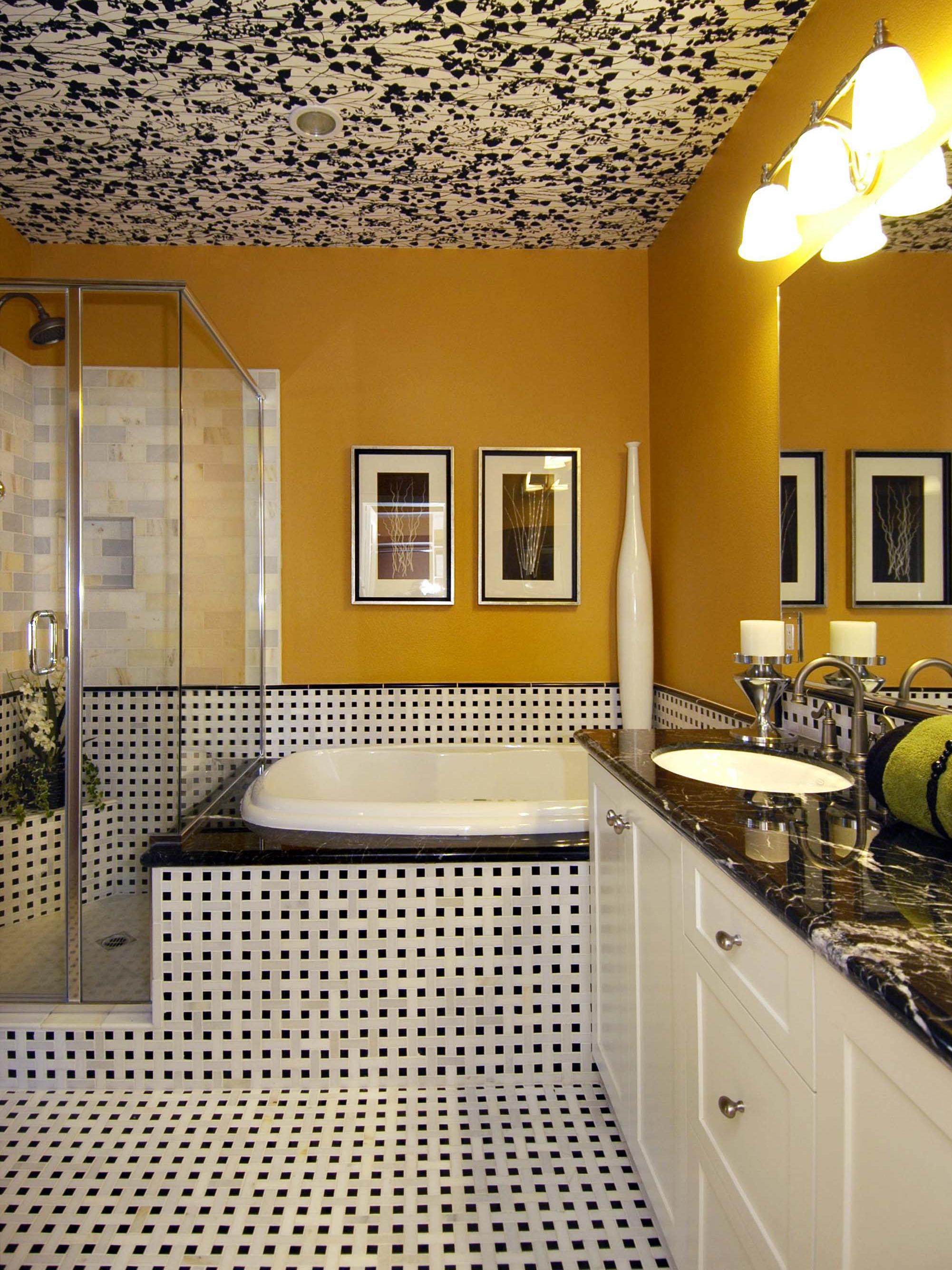 Amazing Roman Bath Store Toronto Small Choice Bathroom Shop Uk Clean Tile Backsplash In Bathroom Pictures Master Bath Remodel Plans Youthful Granite Bathroom Vanity Top Cost PinkMediterranean Style Bathroom Tiles Yellow Bathrooms: 7 Bright Ideas | HGTV