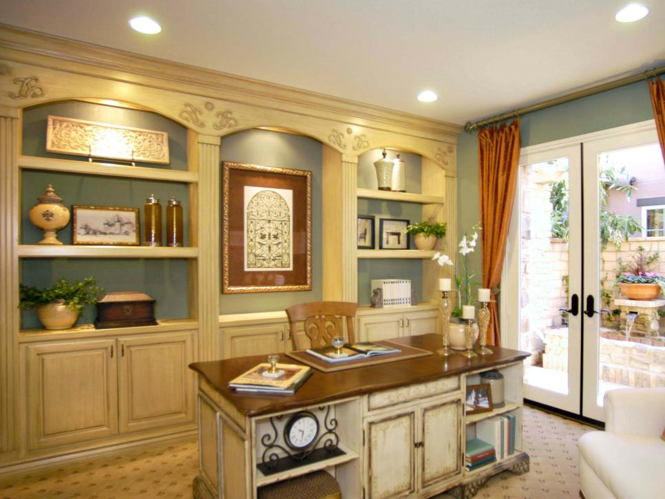 Enjoyable Vibrant Home Offices Hgtv Largest Home Design Picture Inspirations Pitcheantrous