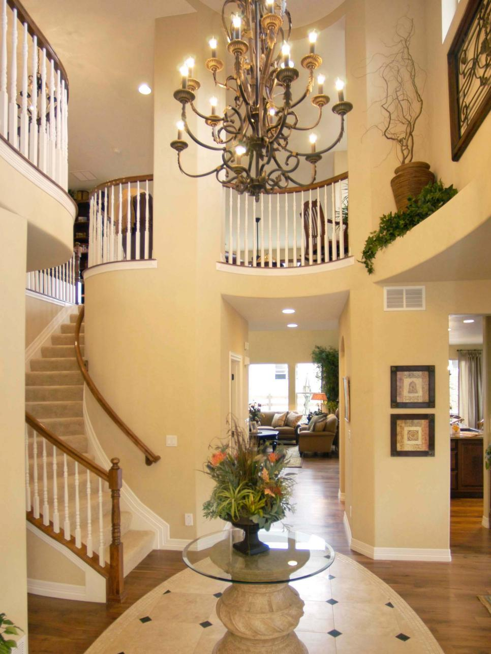 Elegant Entryways entryway lighting designs | hgtv