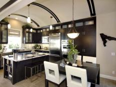 Modern Curved Kitchen Ceiling