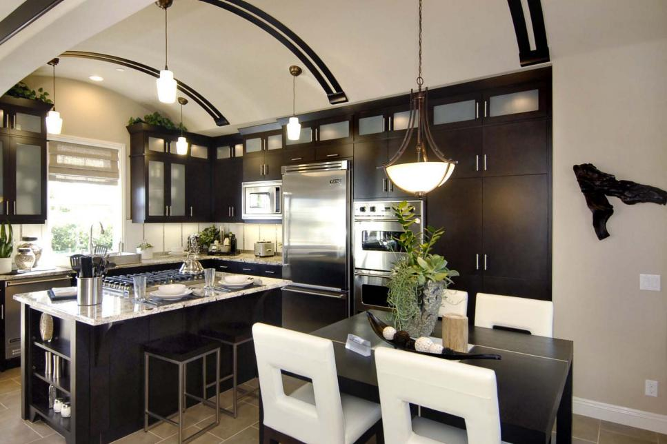 Kitchen ideas design styles and layout options hgtv for Kitchen design pictures