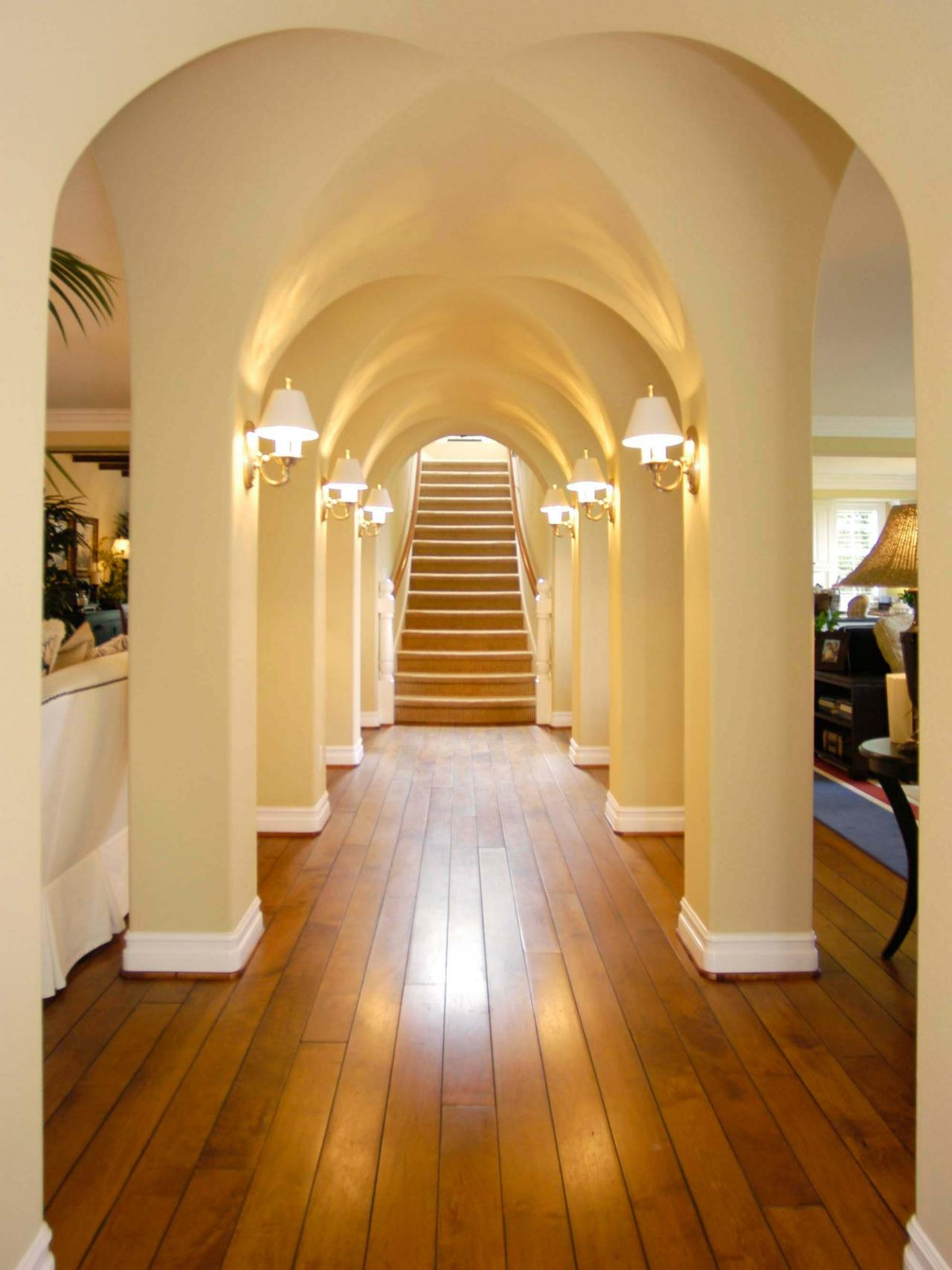Hallway Remodeling Ideas. Luxury Long Narrow Hallway Decorating ...