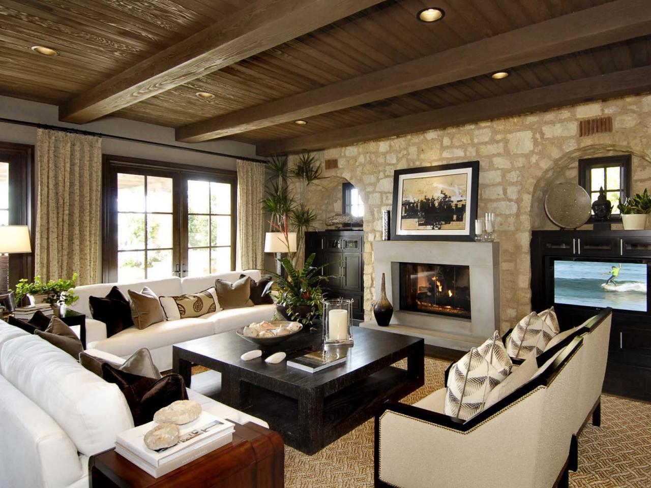 Wooden Ceiling Designs For Living Room Great Ideas For Upgrading Your Ceiling Hgtvs Decorating