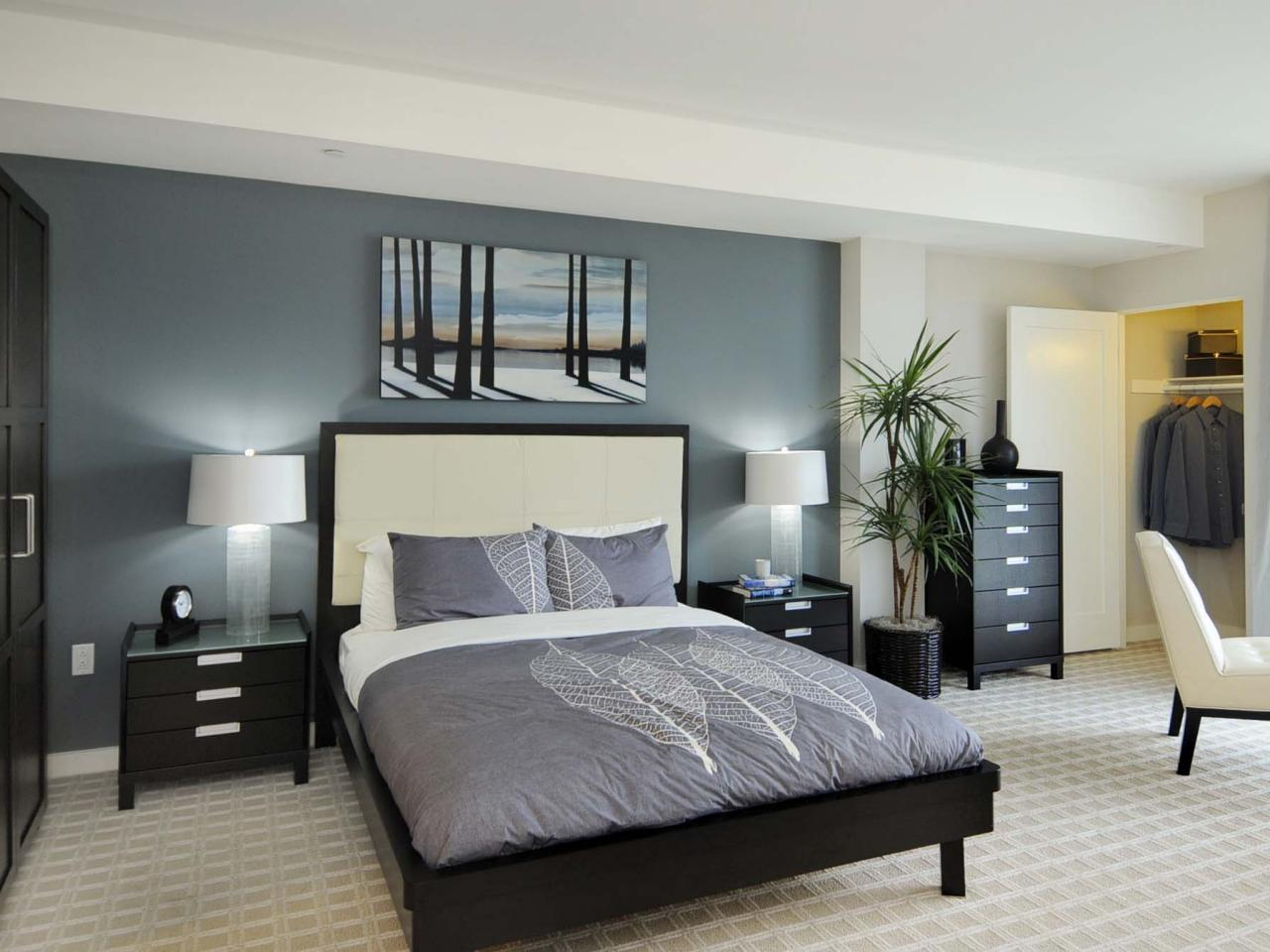 Bedroom Colors Grey Blue gray master bedrooms ideas | hgtv