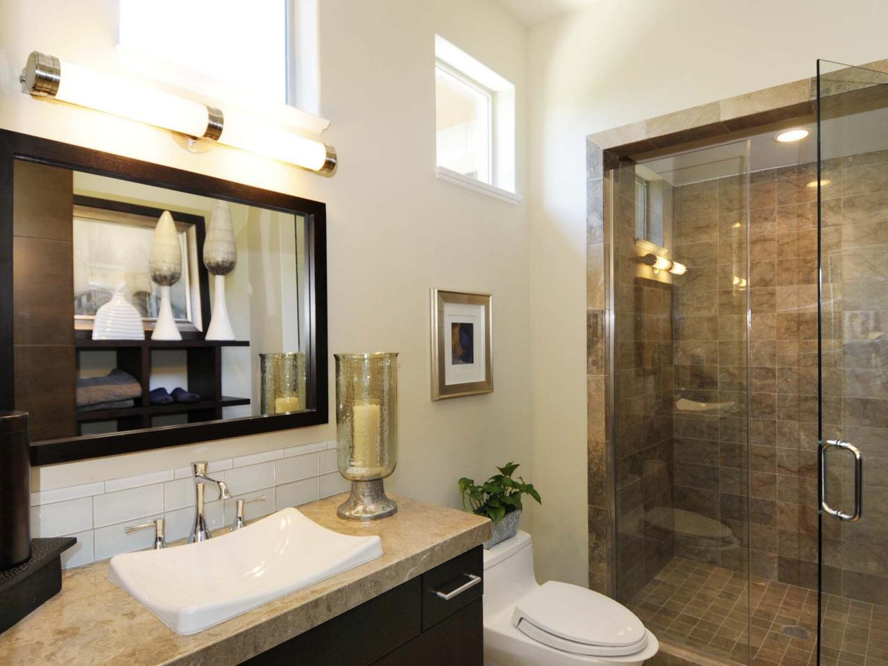 Bathroom Remodeling Supplies 5 tub and shower storage tips | hgtv