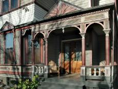 Victorian Home Porch