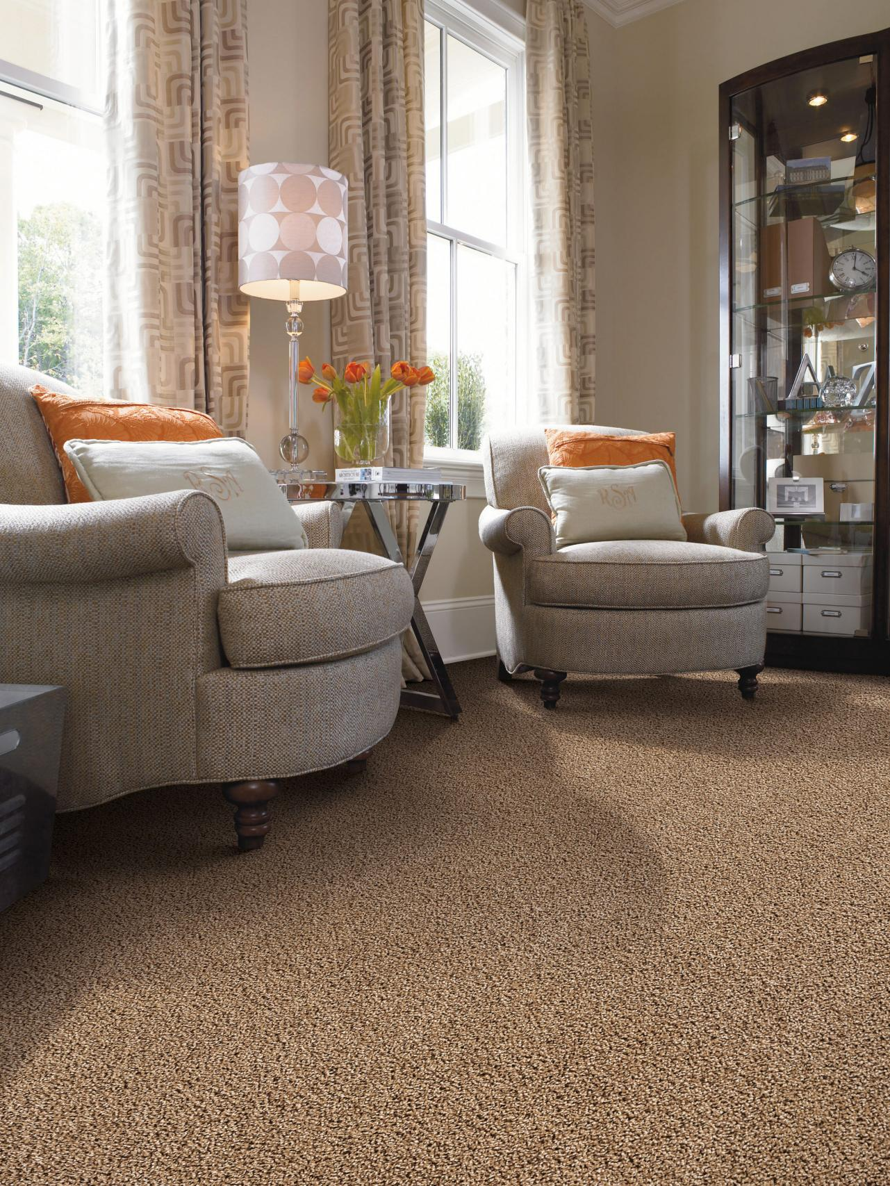 Top living room flooring options hgtv for Living room mats