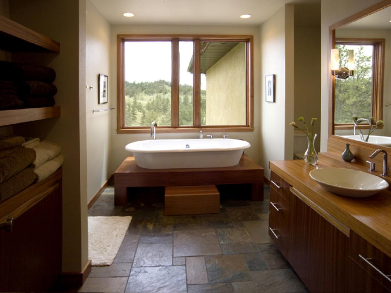 Recommended Flooring For Kitchens Choosing Bathroom Flooring Hgtv