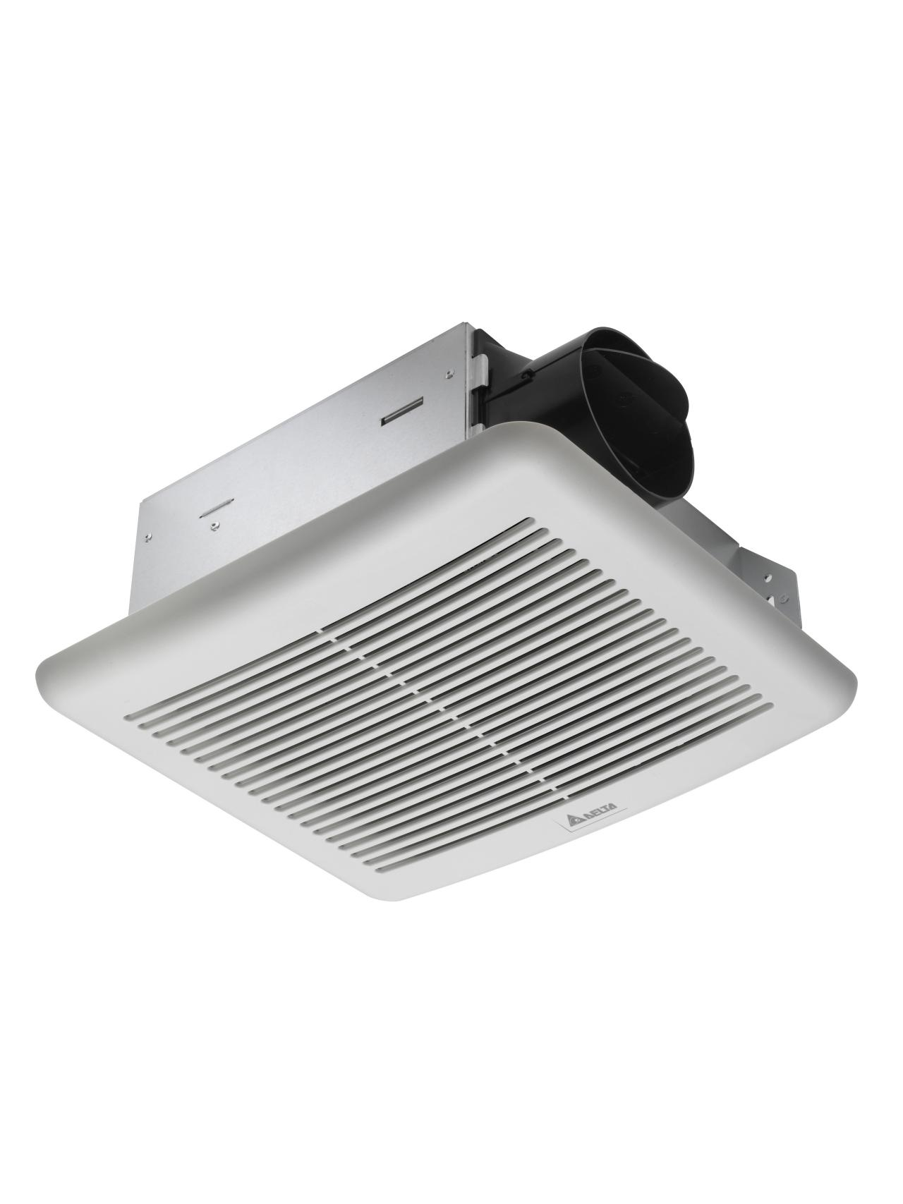 Choosing a bath ventilation fan hgtv for Bathroom ceiling fans