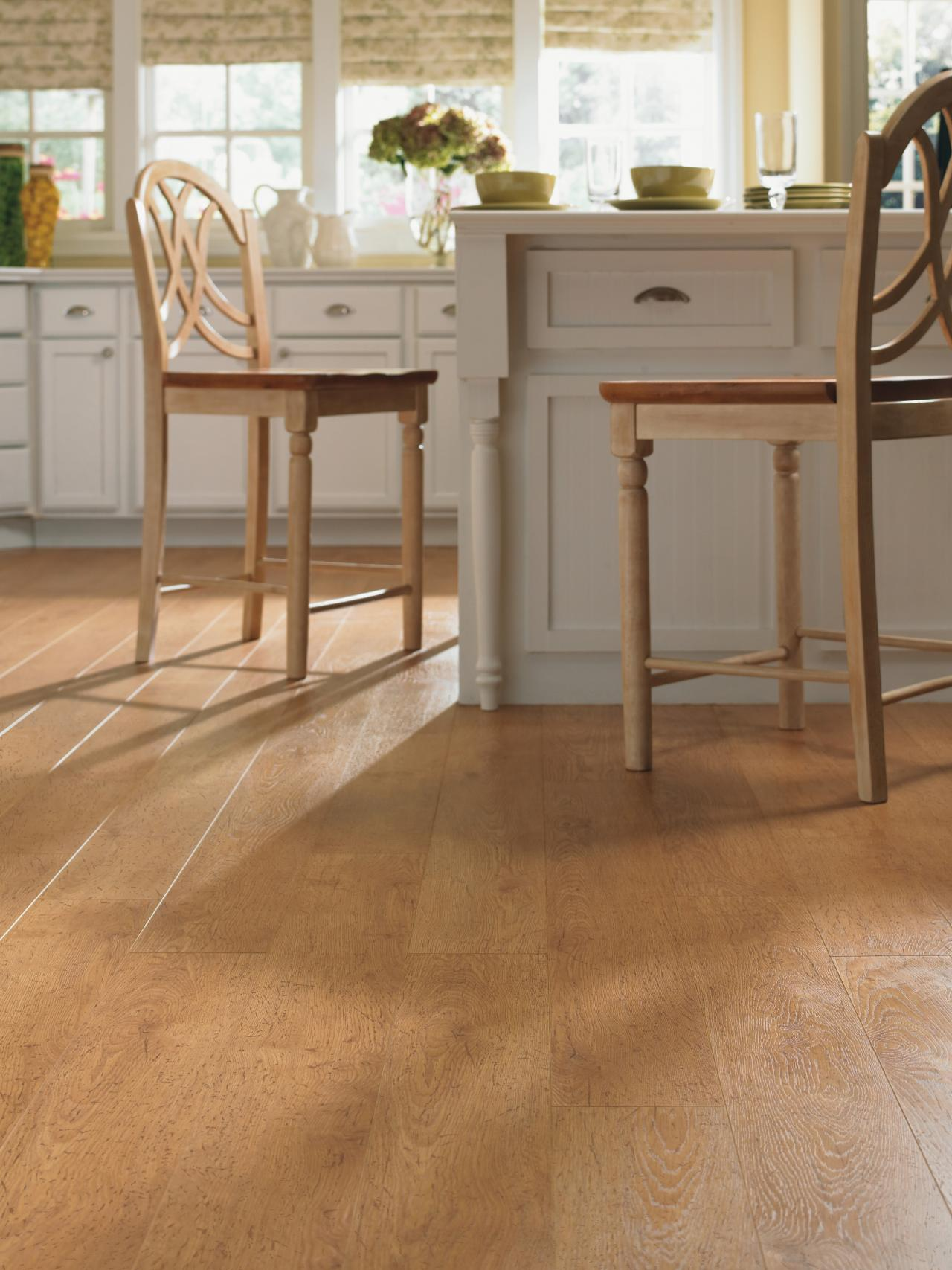Best Kitchen Flooring laminate flooring in the kitchen | hgtv
