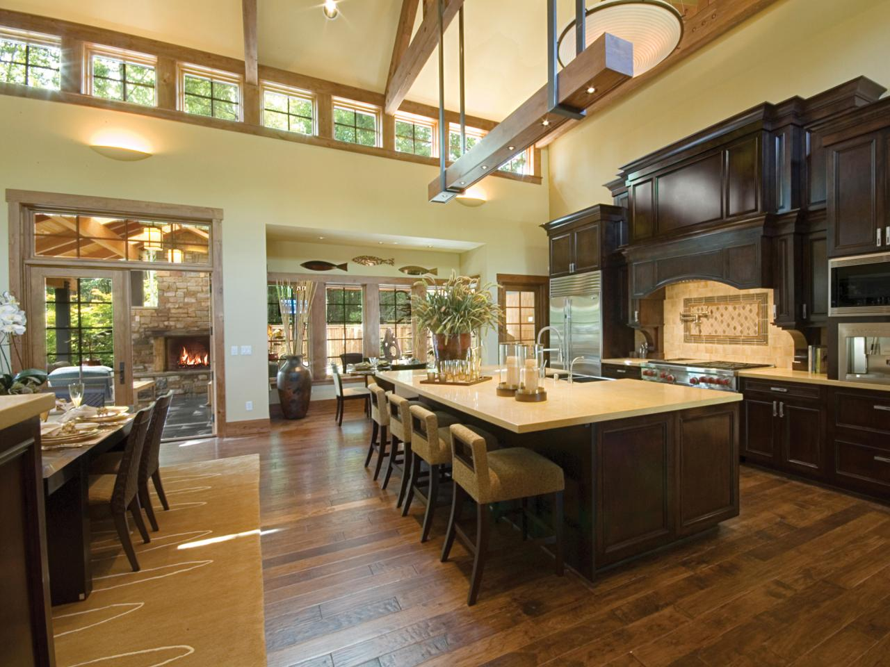 Recommended Flooring For Kitchens Hardwood Flooring In The Kitchen Hgtv