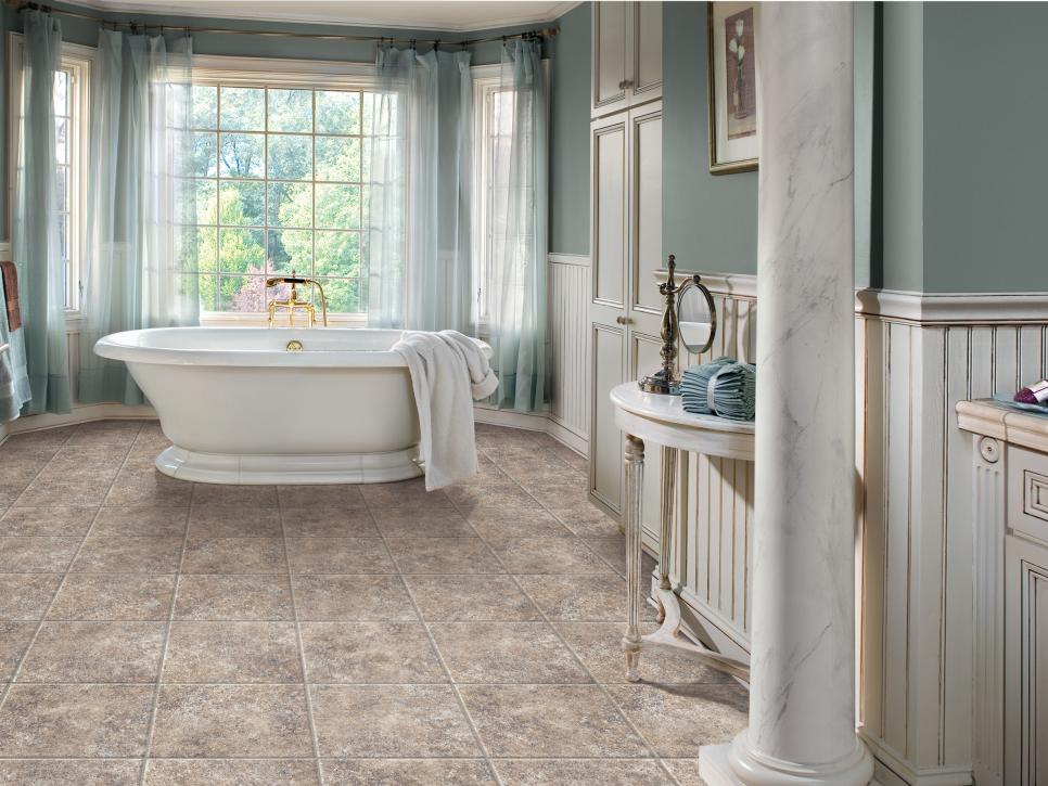 Vinyl Flooring Bathroom: Vinyl Bathroom Floors