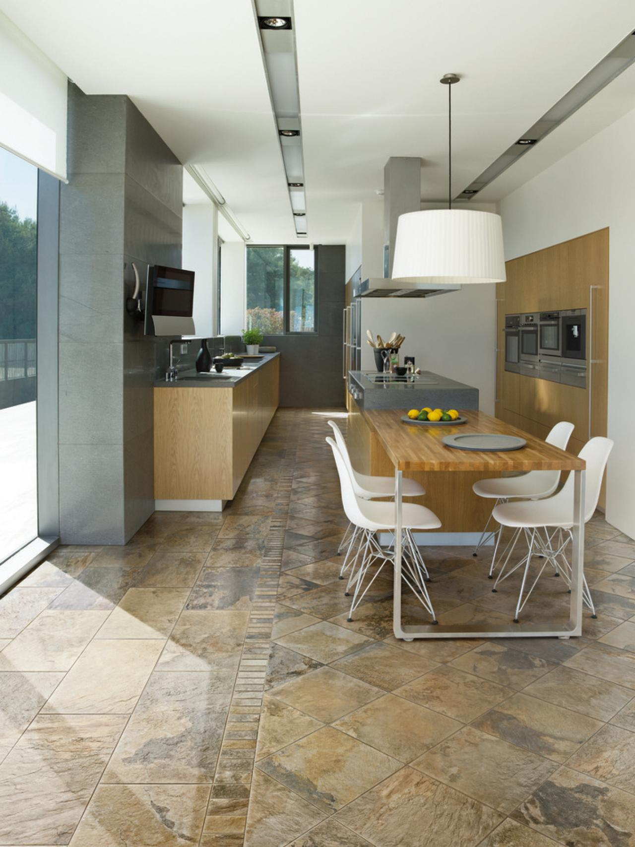 Recommended Flooring For Kitchens Kitchen Floor Buying Guide Hgtv