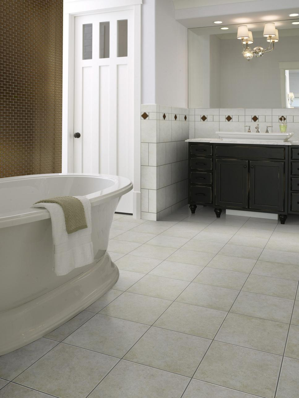 Ceramic tile bathroom floors hgtv intricate tile designs doublecrazyfo Choice Image