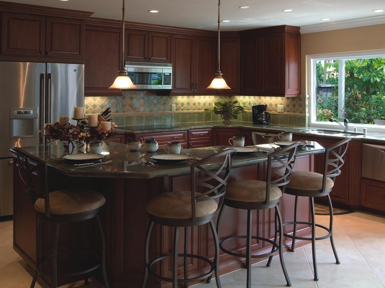 Design layout of kitchen - Small Kitchen Island