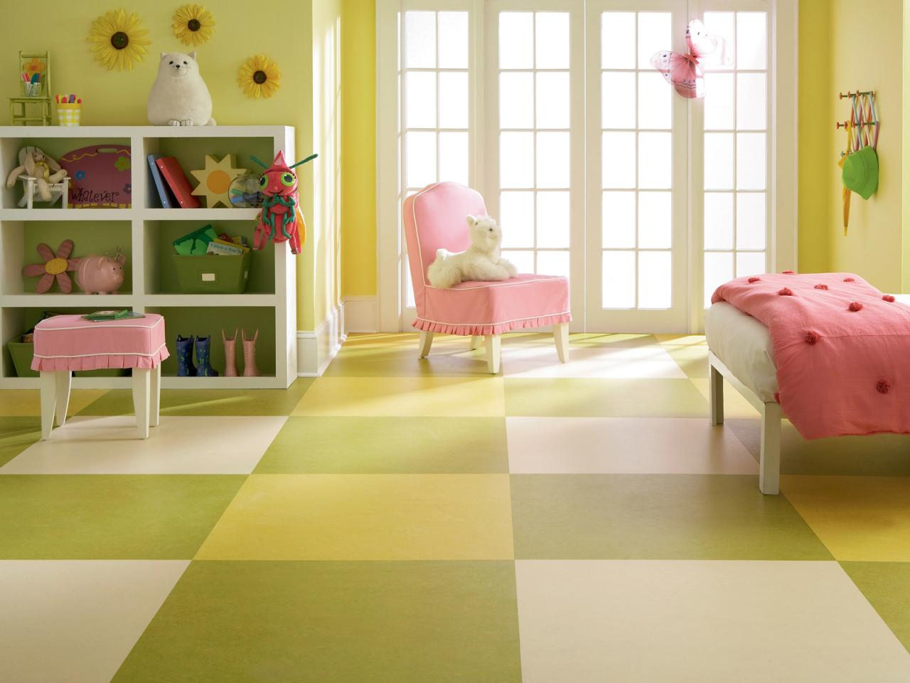 kid friendly flooring hgtv