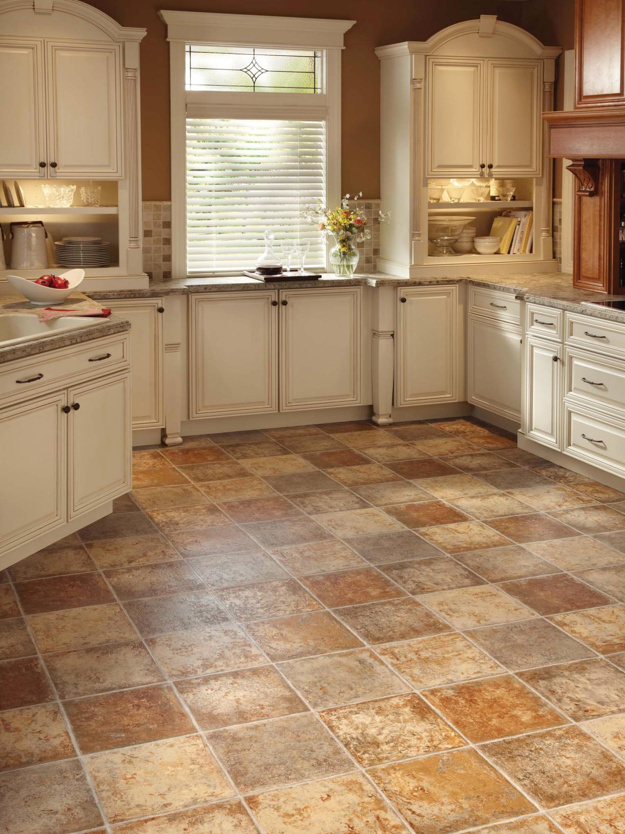Kitchens Floor Vinyl Flooring In The Kitchen Hgtv