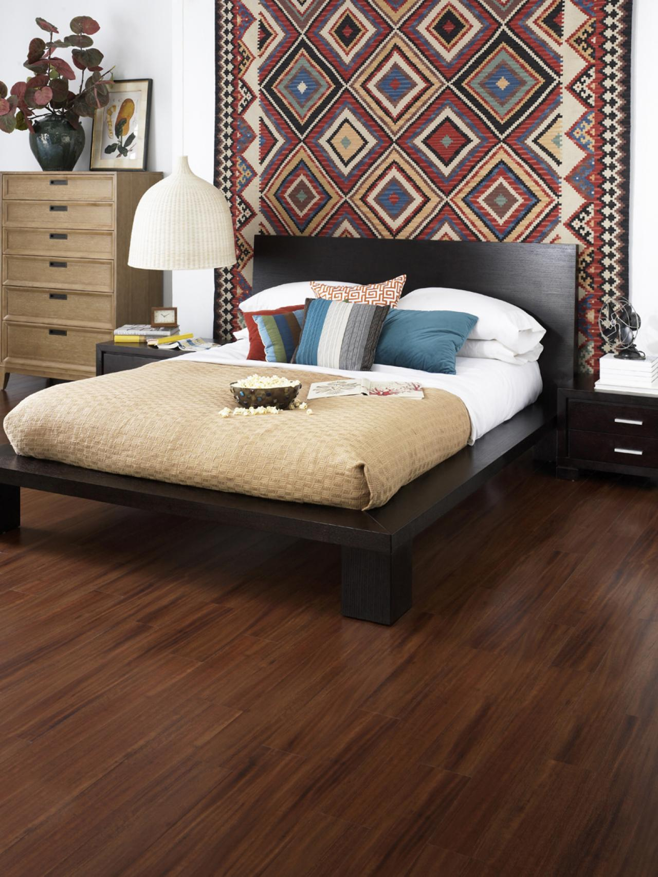 Wood Floor Design Ideas floor design w wood tile how do i clean this paralyzed Bedroom Flooring Ideas And Options Pictures More Hgtv