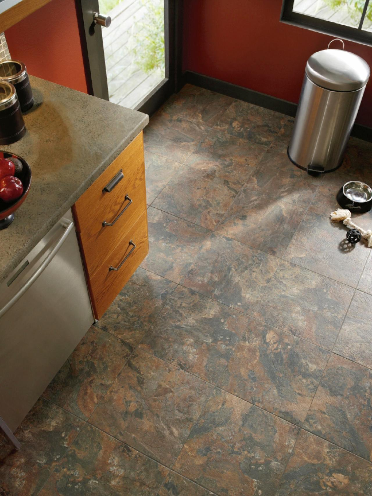 Vinyl Flooring in the Kitchen HGTV
