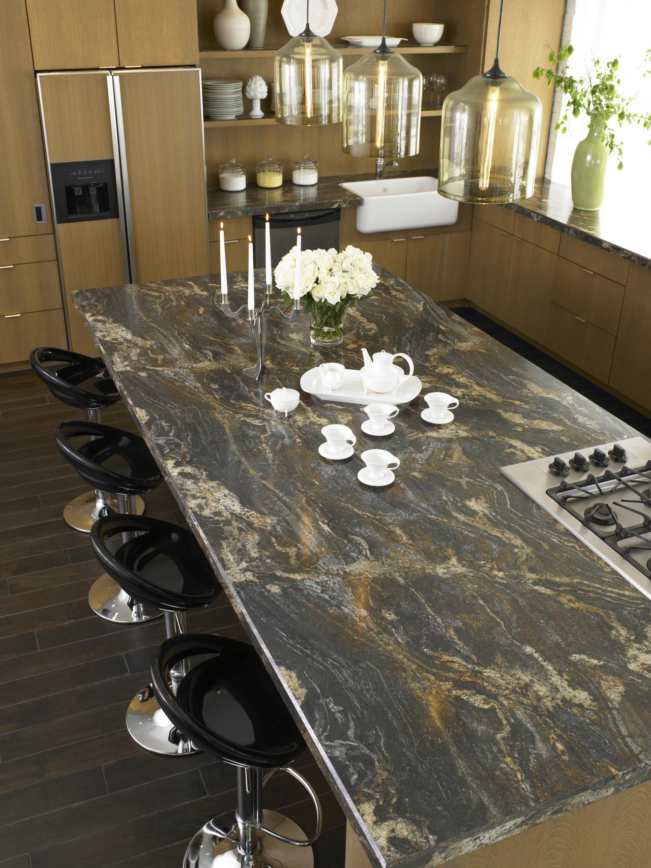 Laminate kitchen countertop hgtv Granite kitchen countertops pictures
