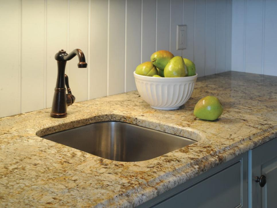 Granite kitchen countertops hgtv Kitchen platform granite design