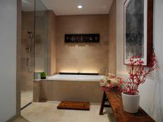 Asian Bench and Bali Panels Give Zen Flair to Spa