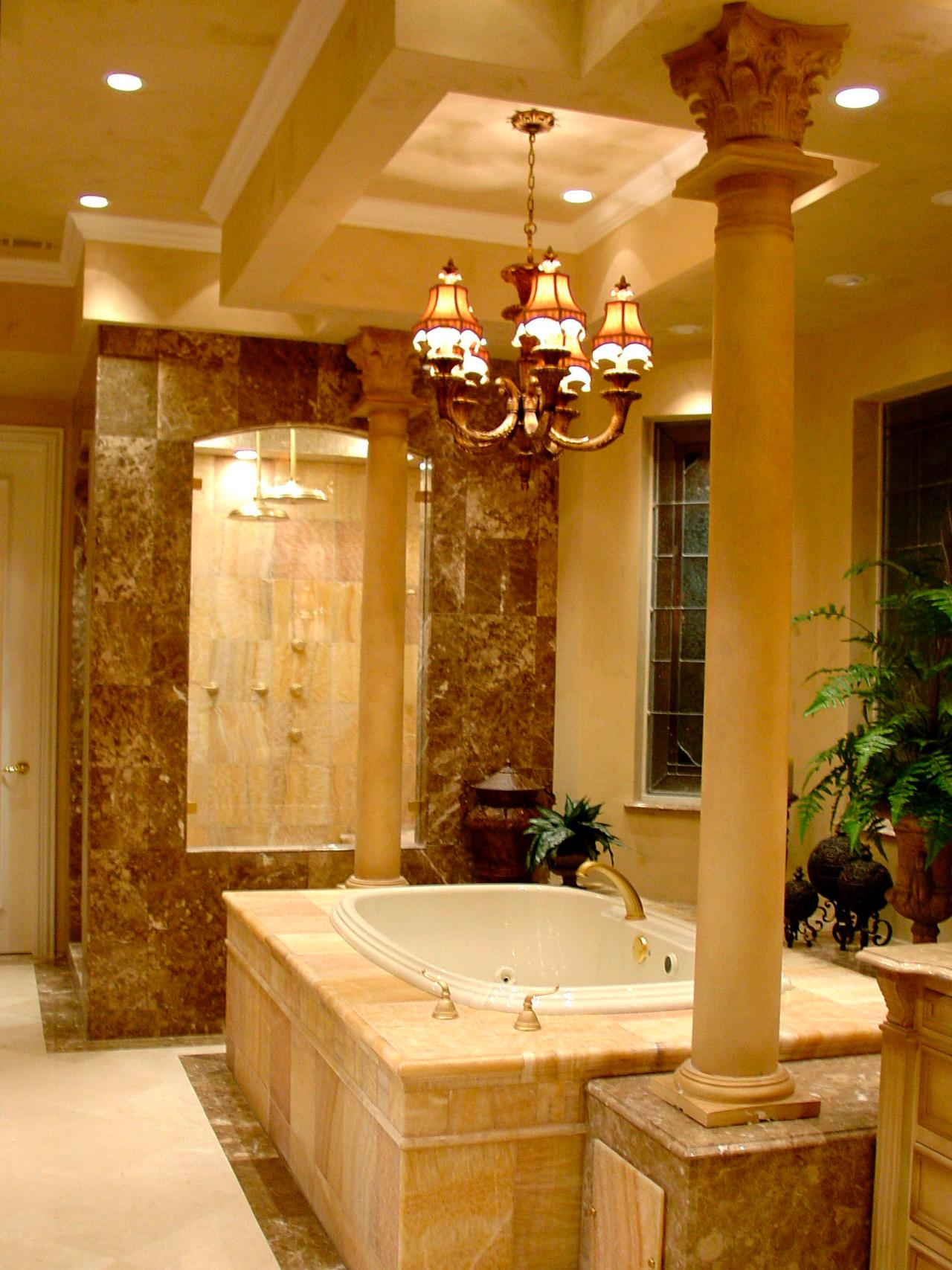 Bathroom Lighting Fixtures HGTV - Gold bathroom light fixtures for bathroom decor ideas