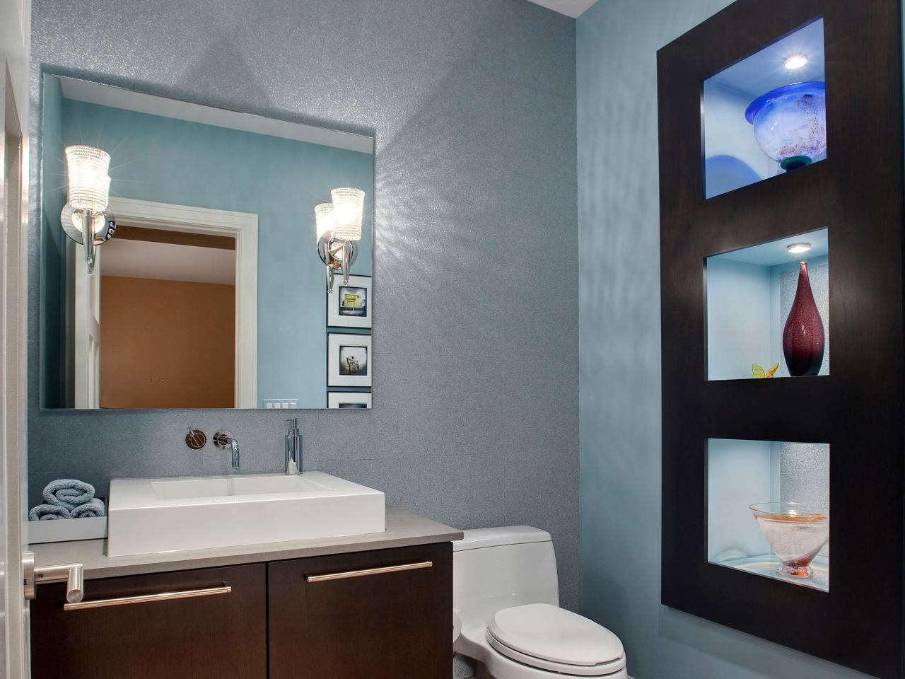 Half Bathroom Or Powder Room HGTV - Powder bathroom ideas