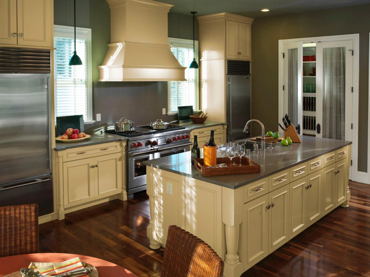 Kitchen Plans With Island kitchen layout templates: 6 different designs | hgtv