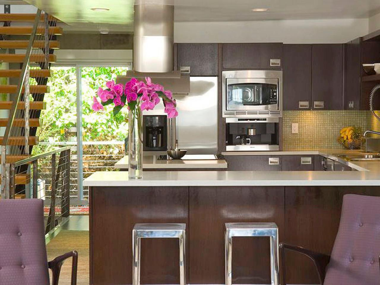 Kitchen Peninsula Ideas Simple Kitchen Peninsula Ideas  Hgtv Design Inspiration