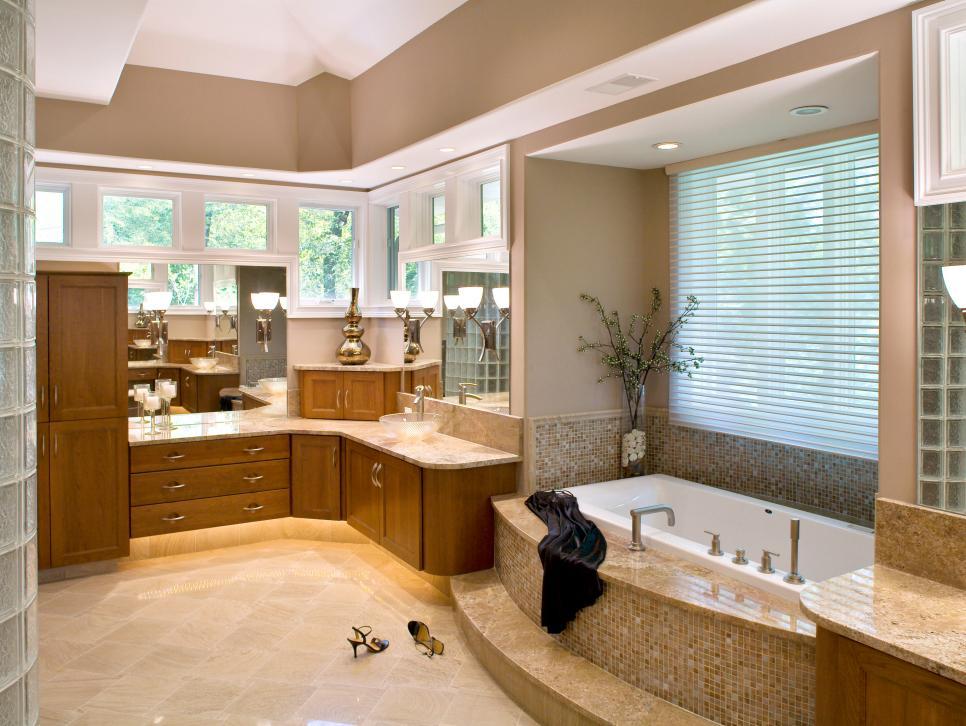 Romanesque Style Bathroom