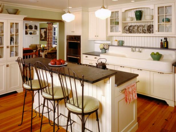 Living Room Style Kitchens Hgtv