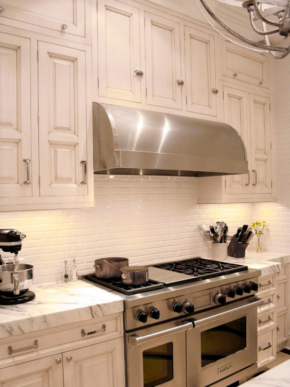 stylish kitchen hood treatments | hgtv
