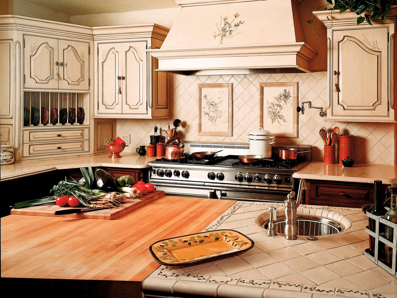 Tile Kitchen Countertops Kitchen Countertop Buying Guide Hgtv